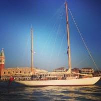 Sailing Into Venice
